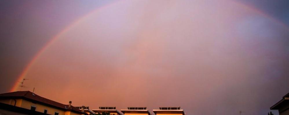 Dopo il temporale ecco l'arcobaleno Invia la tua foto - Guarda la gallery