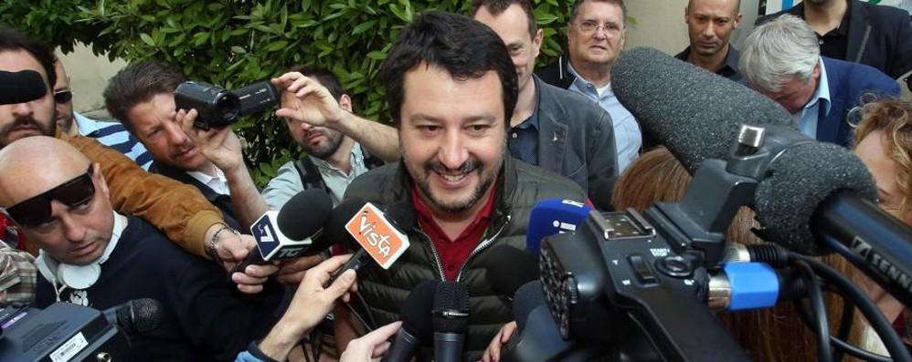 Salvini vince le primarie della Lega Battuto Fava con l'82,7% dei voti