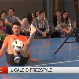 Ardesio, il calcio freestyle dei Fast Foot Crew