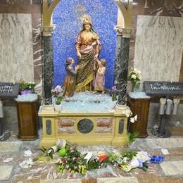 Basella, raid notturno al Santuario Spariti i gioielli dalla statua della Madonna
