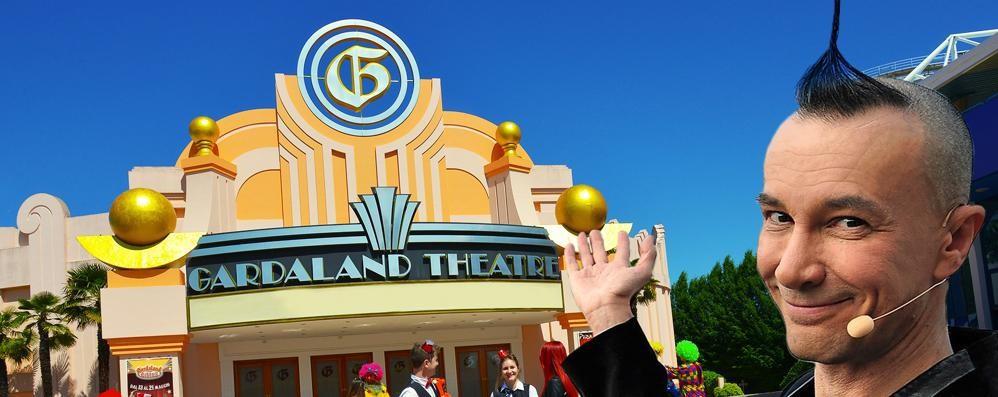Gardaland Magic Circus Brachetti gran cerimoniere