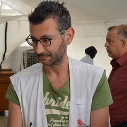 Medico bergamasco in prima linea in Iraq «Trovo la felicità nel sorriso dei pazienti»