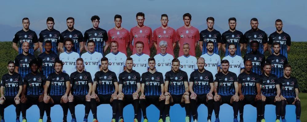Oggi «L'Eco» ti regala l'Atalanta In dono il poster della squadra