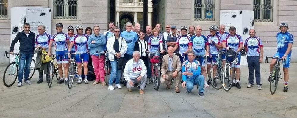 Una volata (vincente) per i trapianti Domenica le donazioni al Giro d'Italia