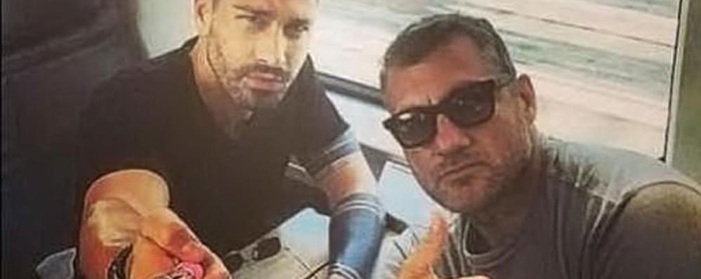 Vieri e Borriello: scommessa pagata  Dall'ex atalantino tre defibrillatori - Video