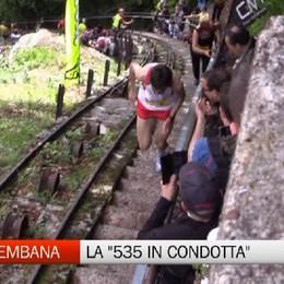 Alta Val Brembana, la 535 in condotta