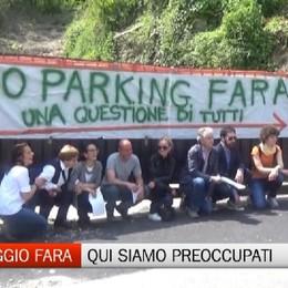Parcheggio della fara: i residenti protestano