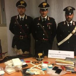 Blitz antidroga a Romano di Lombardia Sequestrati 3,5 chili di cocaina: un arresto