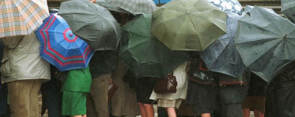 Ancora pioggia sulla Bergamasca Si annuncia una settimana pessima