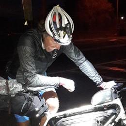 Gabriele e il suo Giro d'Italia speciale «Le tappe le faccio in solitaria. Prima...»
