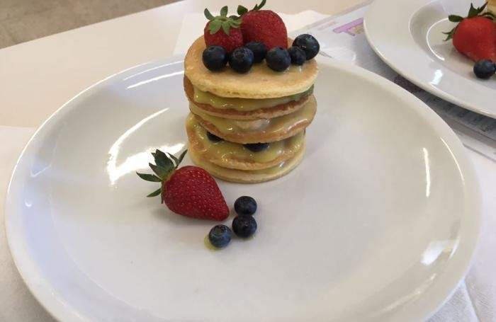 Curate nei minimi dettagli anche le decorazioni del piatto