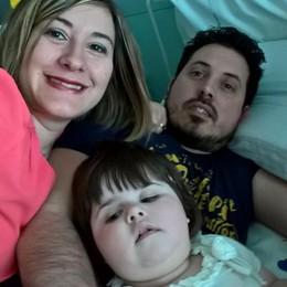 La vita di Matilde appesa a un filo Tre casi in Italia: «Ma lei combatte»