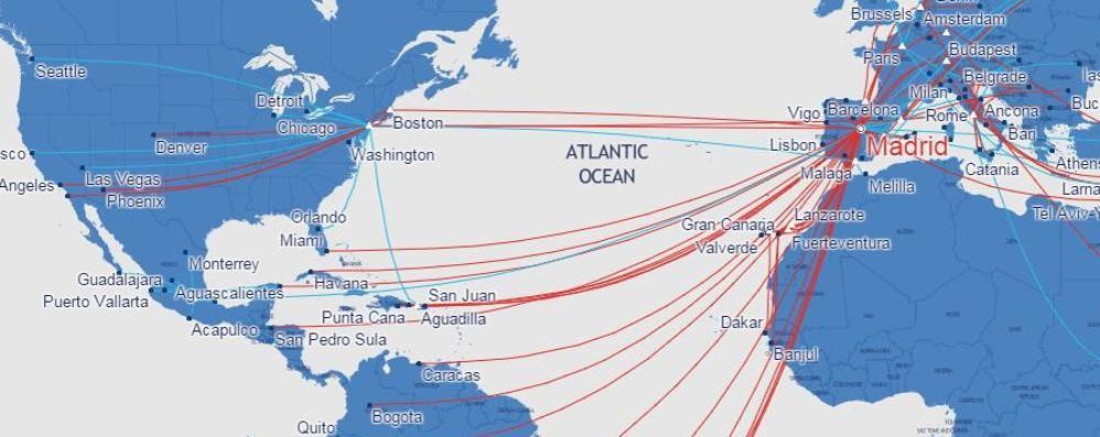Ryanair sbarca in America Voli low cost da Madrid (e Orio)