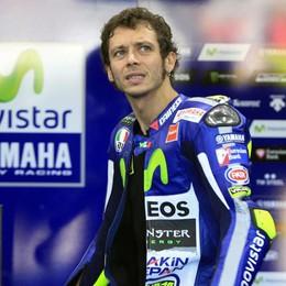 Valentino Rossi, incidente in motocross Trasportato in ospedale in osservazione
