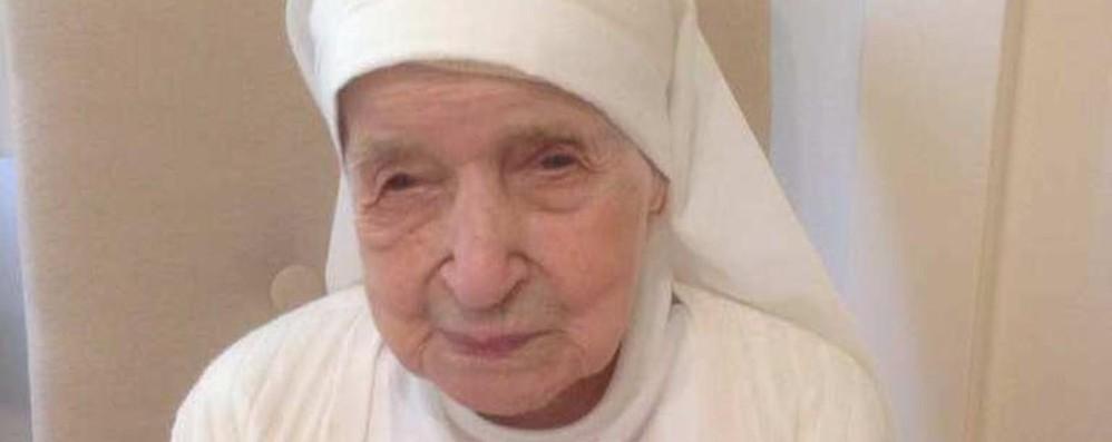 È morta   a 110 anni suor Candida Bellotti La religiosa più anziana al mondo