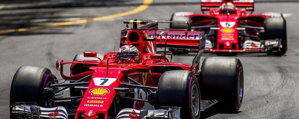 Ferrari doppietta da sogno  a Montecarlo Paura per l'incidente a Wehrlein