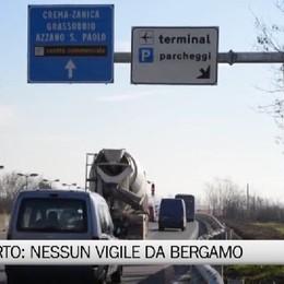 Vigili all'aeroporto: discussione fra Orio e Bergamo