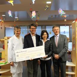 Dal Lions Club Sant'Alessandro 5.000 euro alla Chirurgia pediatrica