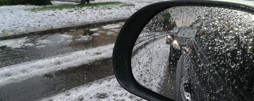 Giovedì temporali con rischio grandine E che neve in Val di Scalve - Video