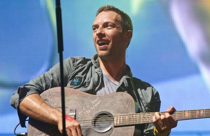 Chris Martin, leader dei Coldplay