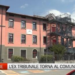 Clusone, l'ex tribunale torna al Comune