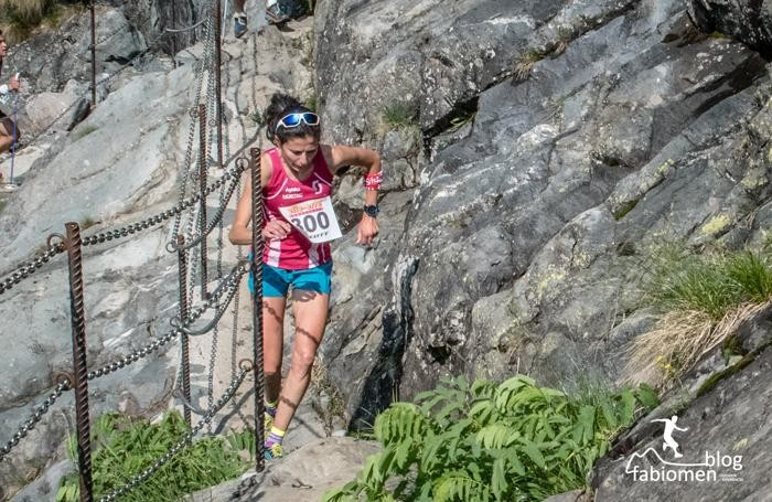 La vincitrice dell'Orobie vertical 2015 Elisa Desco