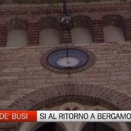 Torre de' Busi si avvicina a Bergamo. Si del Senato