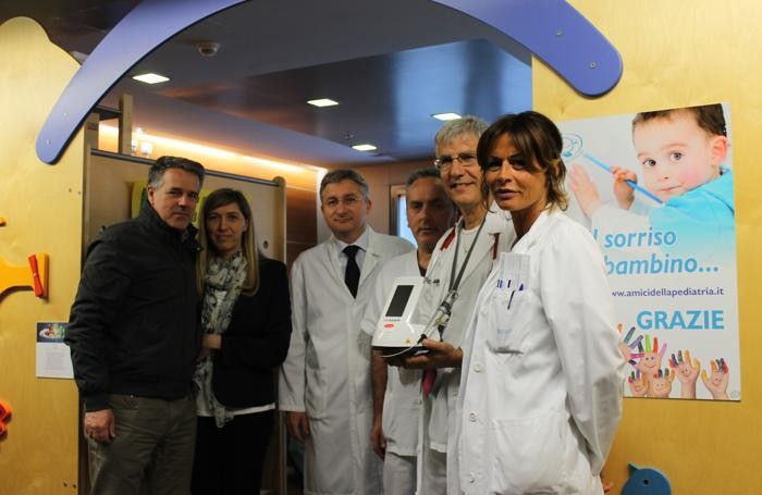 Da sinistra: Antonio Gabrieli, Sara Gabrieli, Lorenzo D'Antiga, Marco Gialli, Massimo Provenzi, Simona Barsotti