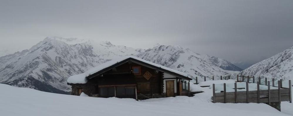 Nevica  in Val Seriana - Foto Sopra Lizzola ecco la situazione