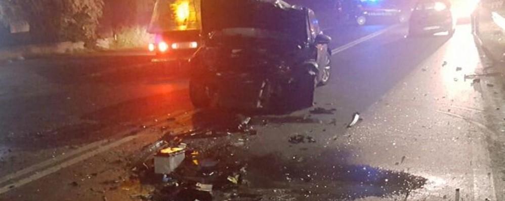 Incidente mortale a Osio Sotto Scontro tra più veicoli, muore un uomo