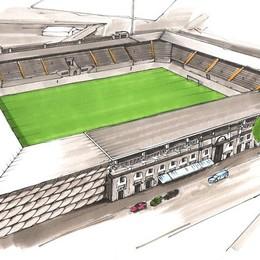Lo stadio all'inglese di Percassi   Un progetto da 25 milioni di euro - Video