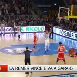 Basket playoff, Remer Treviglio-Trieste 78-77