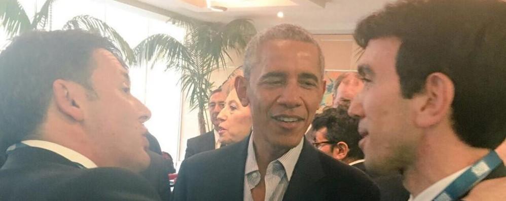 Il ministro Martina incontra Barack Obama «Agire sui cambiamenti climatici»
