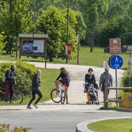 Valle Seriana, nuove regole per la ciclabile Stop a cani liberi e velocità elevate