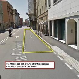 Asfalto nuovo in via Frizzoni e Camozzi Lavori in strada dal 5 al 9 giugno
