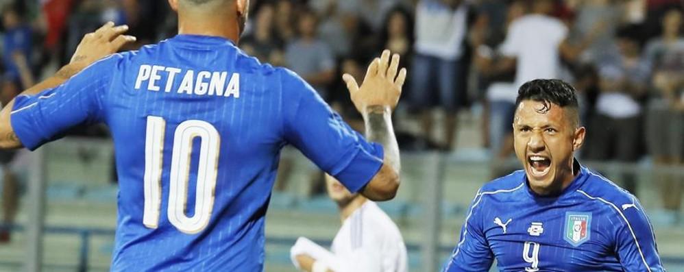 Tutto facile per l'Italia nerazzurra Petagna e Caldara in gol – Il video