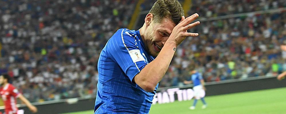 C'è Bergamo nell'Italia che vince Gabbiadini e Belotti vanno in goal