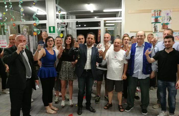 Riva festeggia ad Arzago