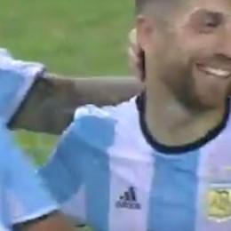 Papu Gomez, debutto con rete Festa per la Nazionale argentina - video