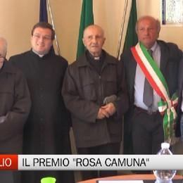Valgoglio, premio Rosa Camuna ai sacerdoti Sarzilla