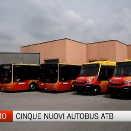 Atb, acquistati cinque nuovi autobus