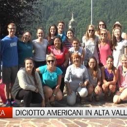 Novazza, diciotto giovani americani in Alta Valle