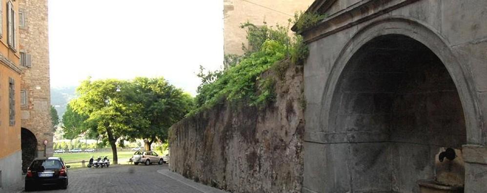 Porta Dipinta, lavori per il marciapiede  Modifiche alla viabilità, nuovi alberi