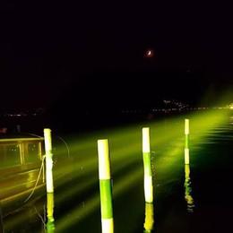 Vi ricordate il 18 giugno 2016? «The Floating piers», ora il ponte è di luce