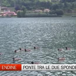 Lago di Endine - Un ponte unirà le due sponde opposte