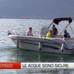 Ats: nei lago d'Iseo si può nuotare