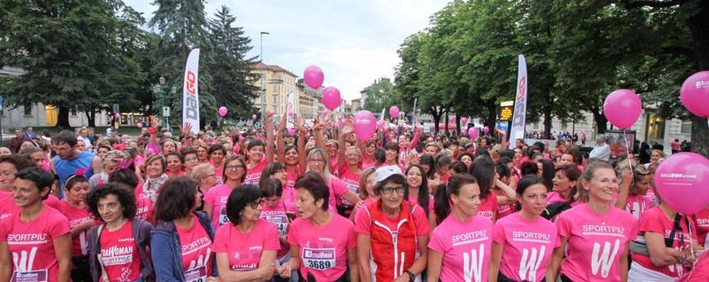 Strawoman, sabato si corre in centro «Contro la violenza sulle donne»