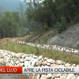 Valle del Lujo, apre la pista ciclopedonale