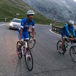 L'ultima impresa di Yuri Giupponi Dall'Etna allo Stelvio in bici, no stop