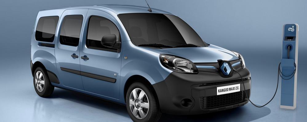 Veicoli elettrici Renault  Kangoo Z.E. amplia l'autonomia